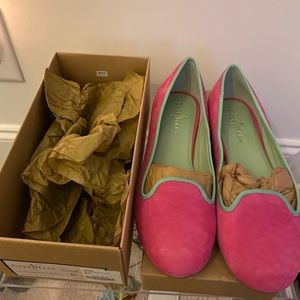 Cole Haan Brand New in Box Pink & Green
